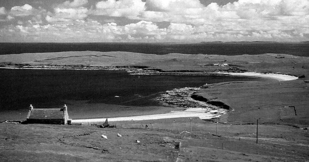 Old photograph of Gossabrough, a coastal hamlet on the south east side of the island of the Isle of Yell, Shetland Islands , Scotland . The... #shetlandislands Old photograph of Gossabrough, a coastal hamlet on the south east side of the island of the Isle of Yell, Shetland Islands , Scotland . The... #shetlandislands