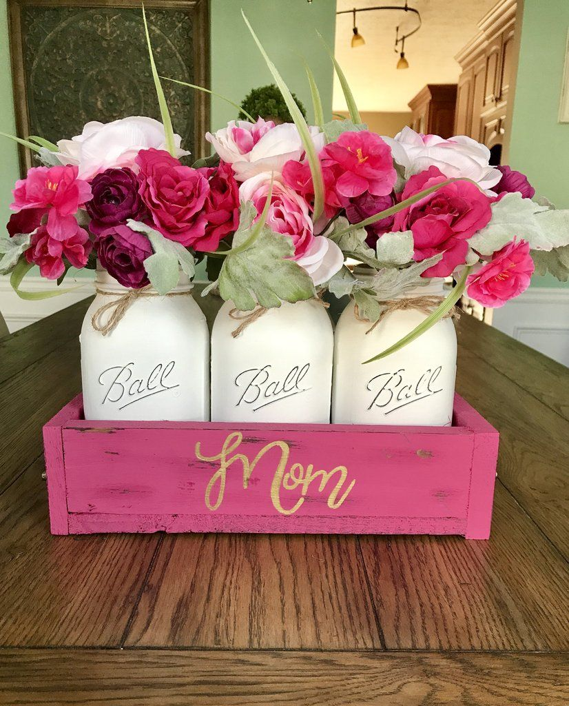 Gift for Mom Mother's Day gift centerpiece Diy