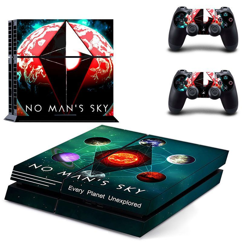 997c628622cfd No Man's Sky Video Games Skin For Ps4 Playstation 4 Controller ...