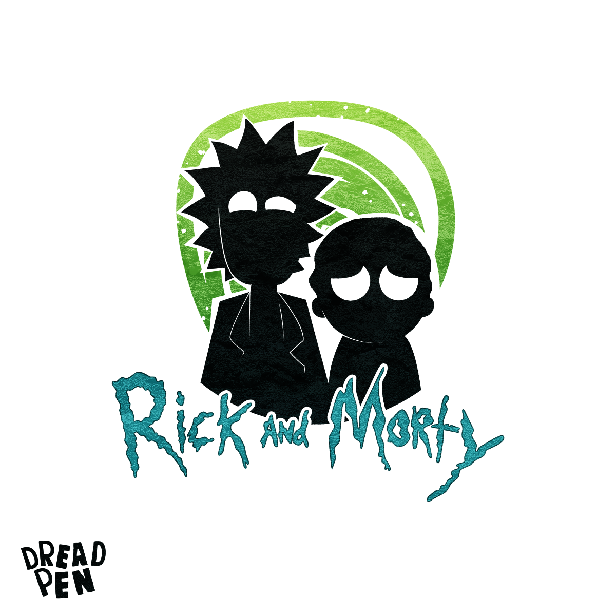 image result for minimalist poster rick and morty pop poster art