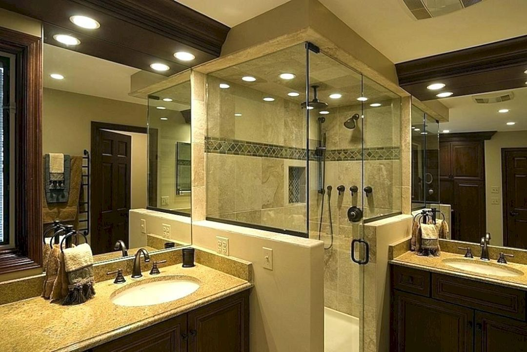 Luxurious Cool Master Bathroom Design Ideas For Your Big Home Teracee Master Bathroom Layout Bathroom Remodel Pictures Luxury Master Bathrooms
