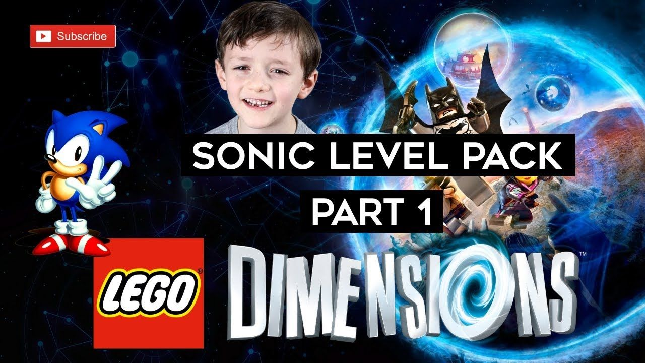 Lego Dimensions Sonic The Hedgehog Level Pack Part 1 Set 71244 Lego Dimensions Lego Sonic