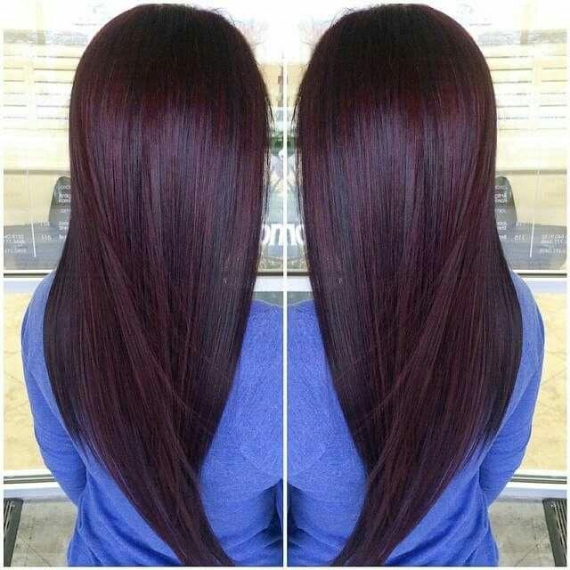chocolate cherry hair tips amp hair care pinterest