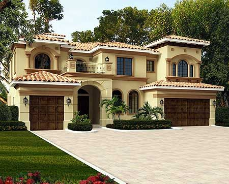 Mediterranean luxury architectural designs plan 32232aa for Architecturaldesigns com house plan 56364sm asp