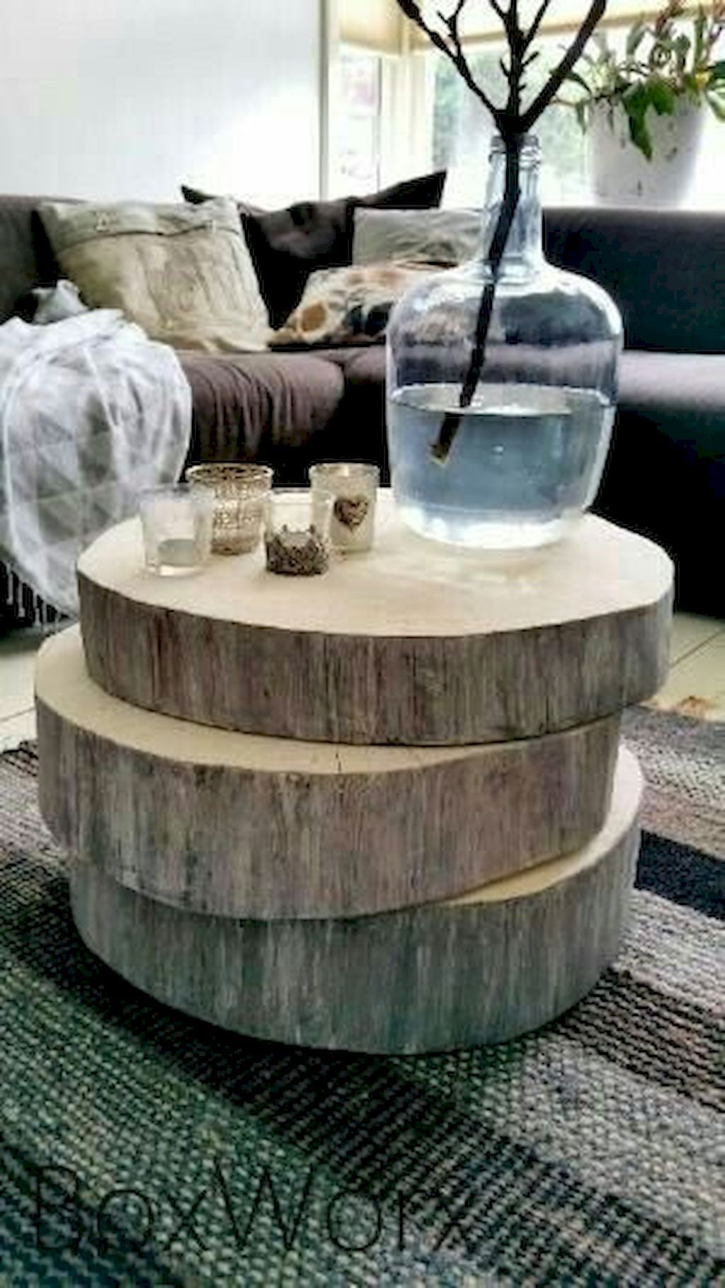 60 Makeable Designs Of Farmhouse Side Table You Must See Elonahome Com Decor Coffee Table Rustic Furniture