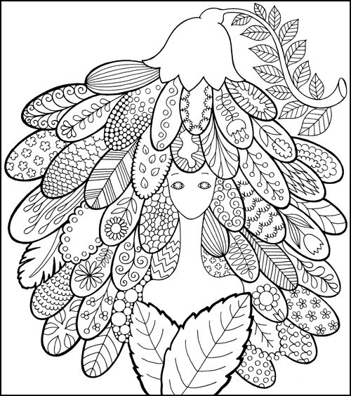 Fairy Shampoo : An Enchanted Coloring Book I Waves of Color | dibus ...