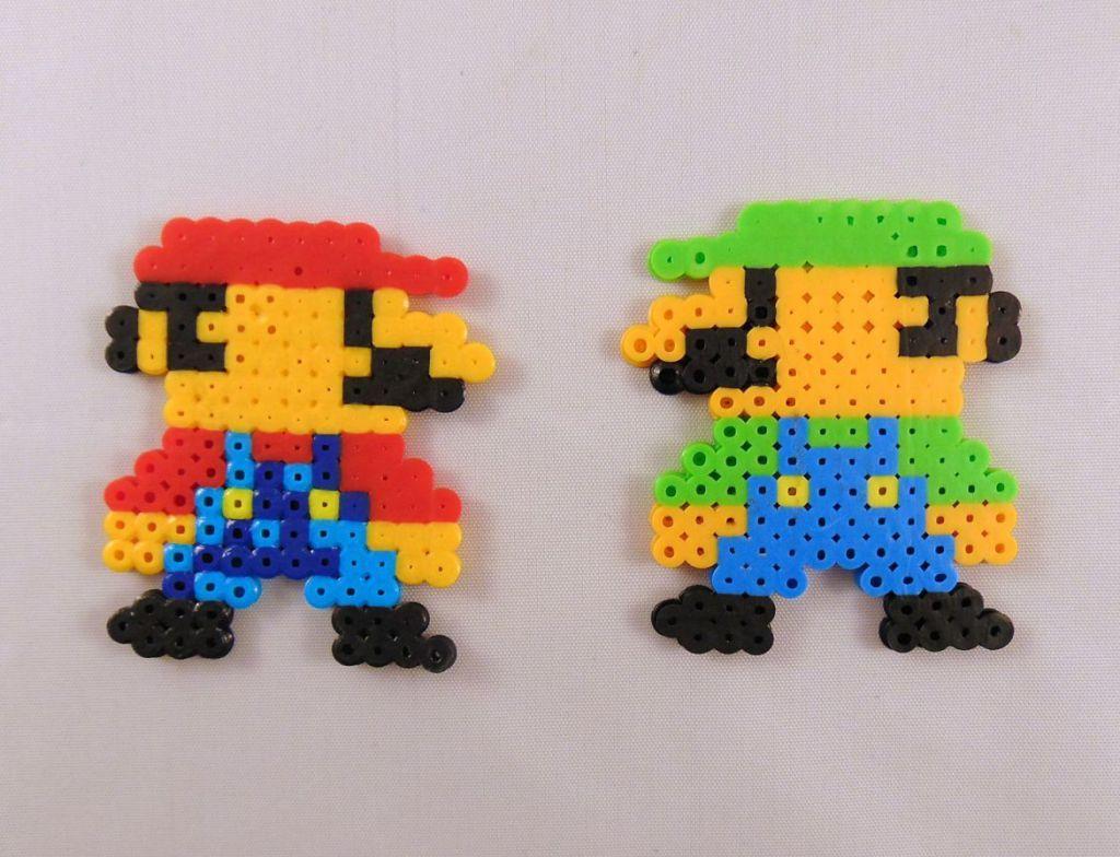10 Easy Super Mario Perler Bead Patterns Kid Stuff