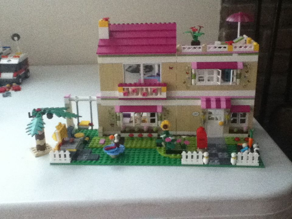 Lego Friends: Olivia's house made out of legos.