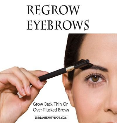 how to stop picking eyebrow