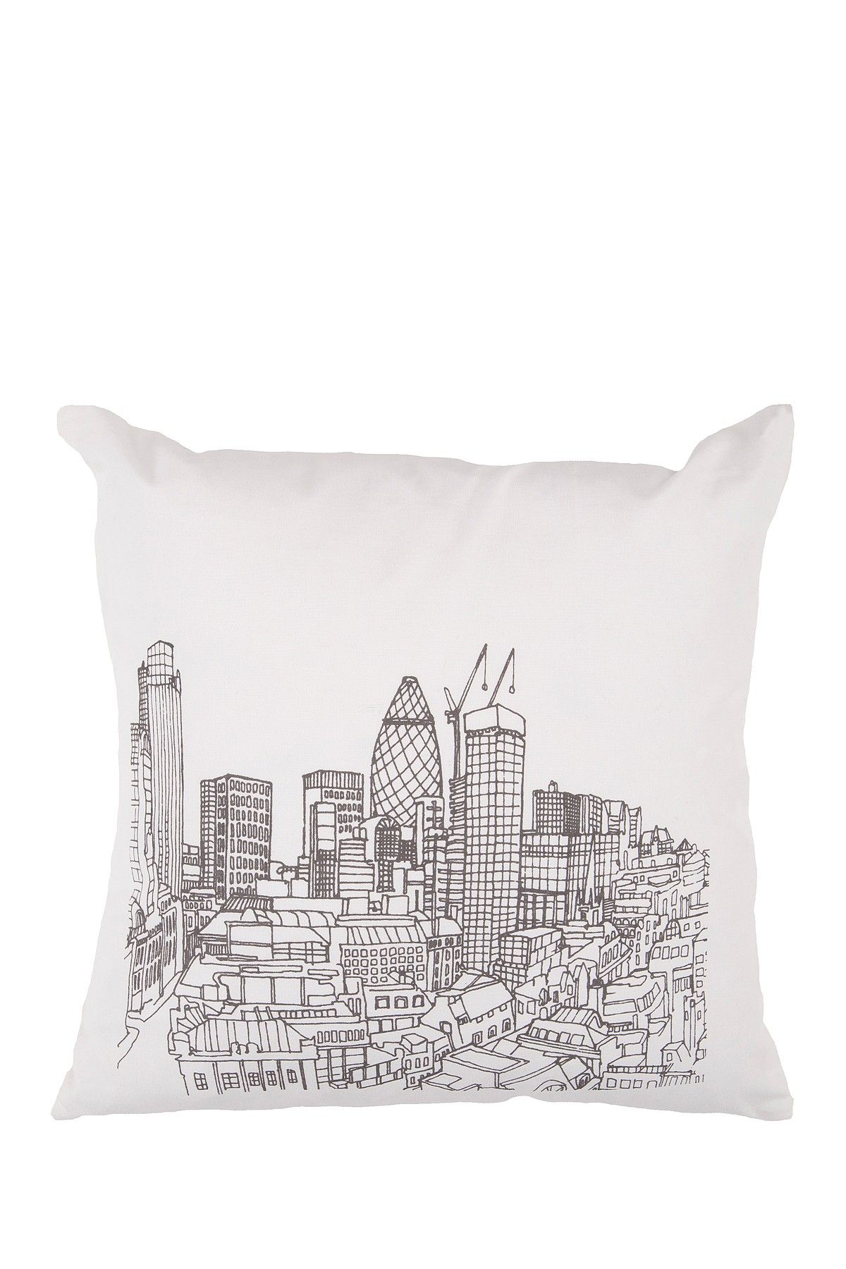 "Urban White/Wenge 18"" Pillows on HauteLook"