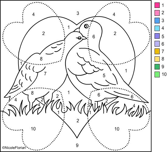 Nicole S Free Coloring Pages Color By Number Valentines Valentines Day Coloring Page Valentine Coloring Free Coloring Pages