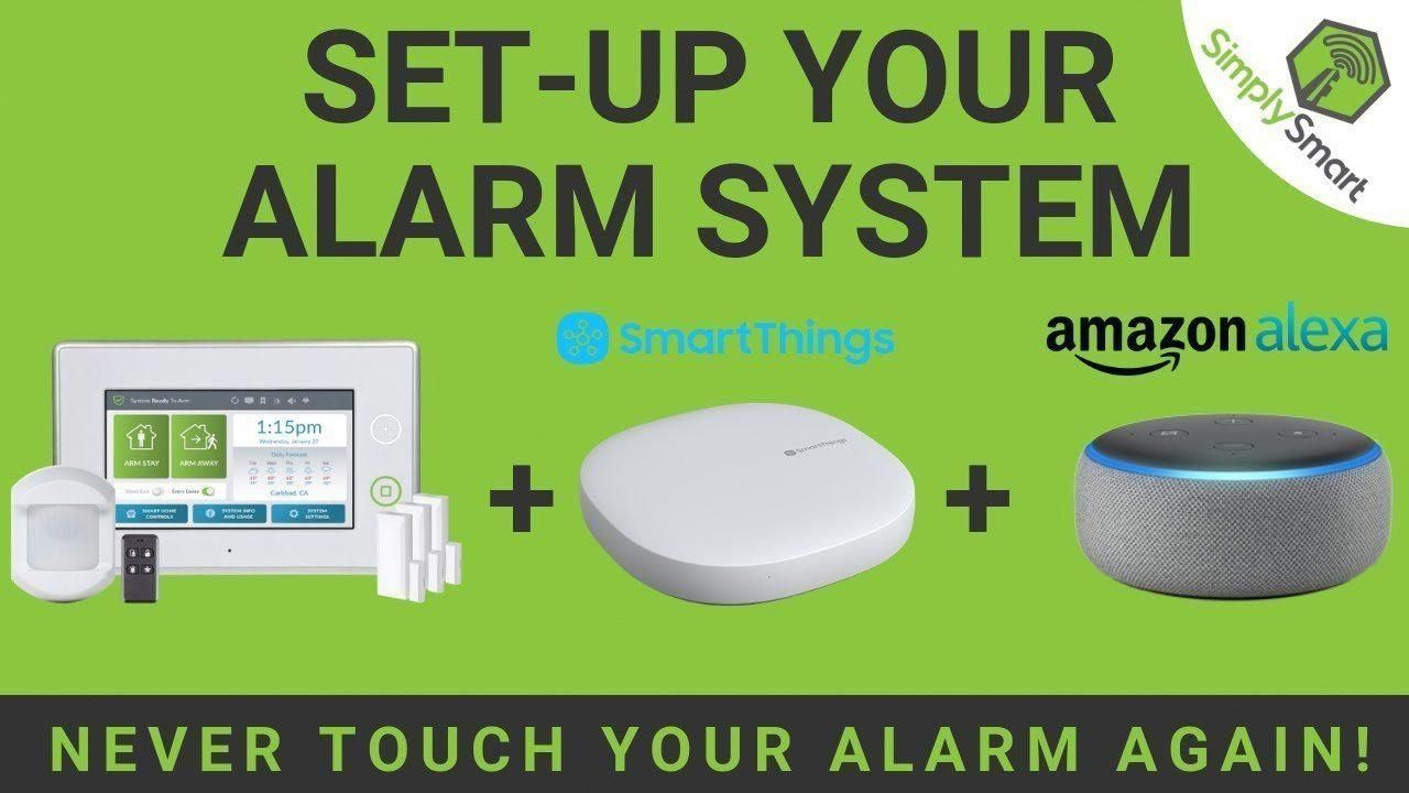 Connect Your Alarm System To Smartthings And Control With Alexa 2019 Wise Alarm System Home Security Systems Smartthings