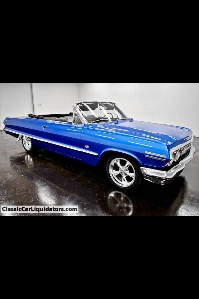 63 Impala Ragtop Http Mrimpalasautoparts Com Classic Cars 63 Chevy Impala Impala