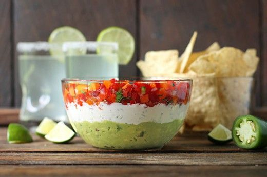 Guacamole Cojita Salsa Party Dip