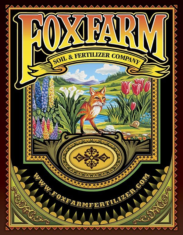 Foxfarm Catalog Back Cover Image Big Blooms Fertilizer Edible Landscaping