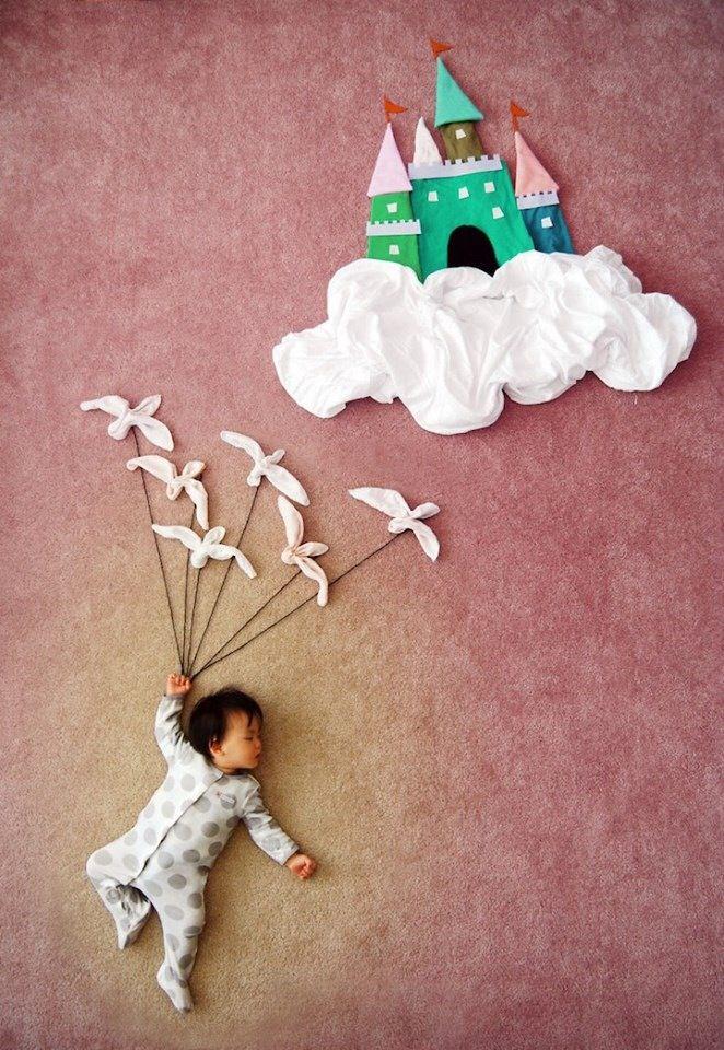 Sleeping baby photo ideas