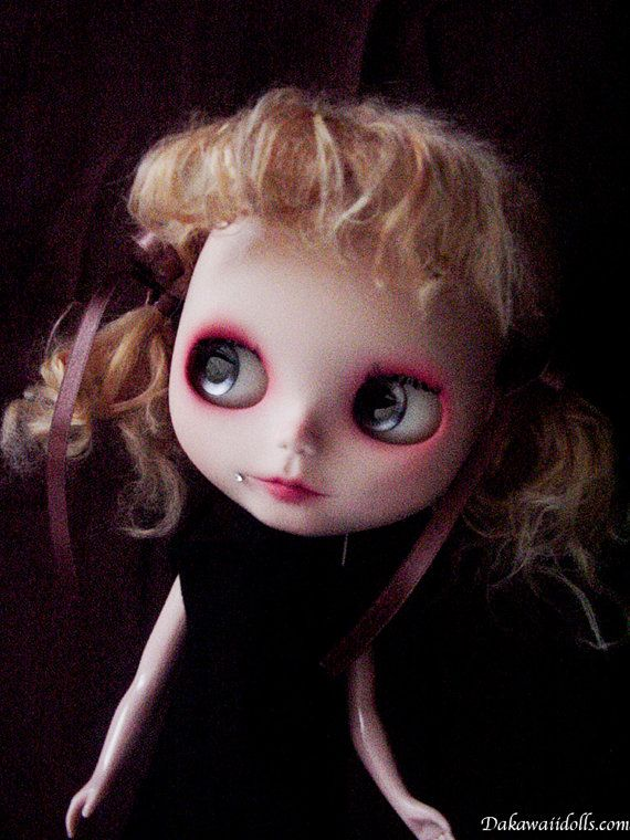 One Customized OOAK Blythe Doll Mico by Dakawaiidolls on Etsy, $250.00