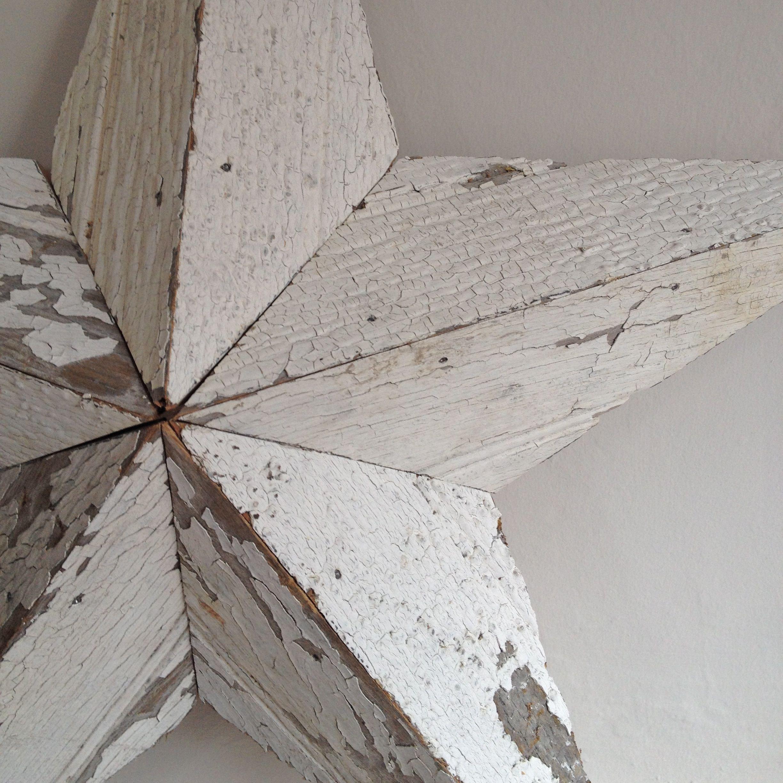 Wooden Star Wall Decor beautiful peeling paint white wooden amish barn star wall decor