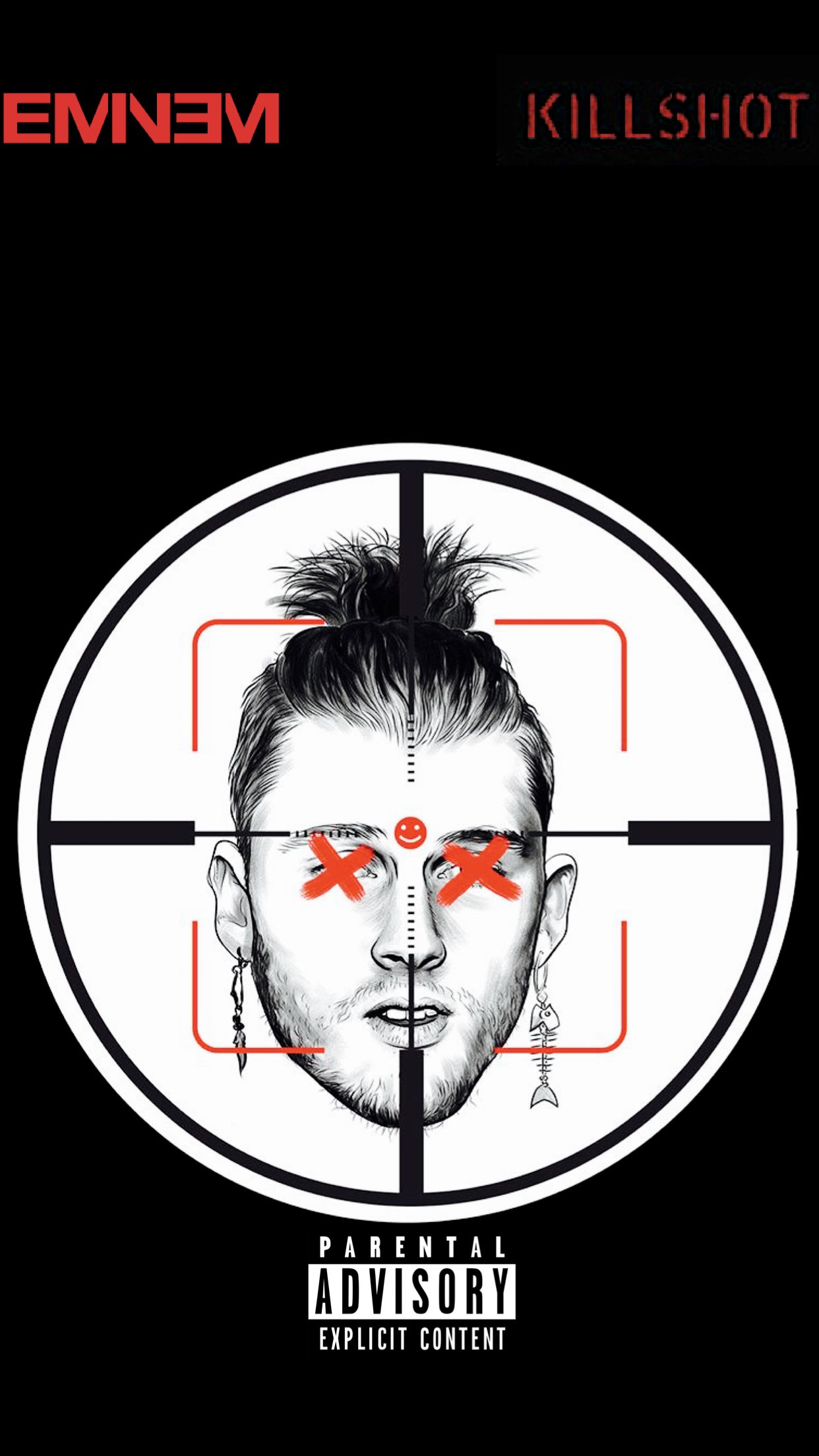 Eminem Kill Shot Cover Iphone Wallpaper Quotes In 2019 Eminem