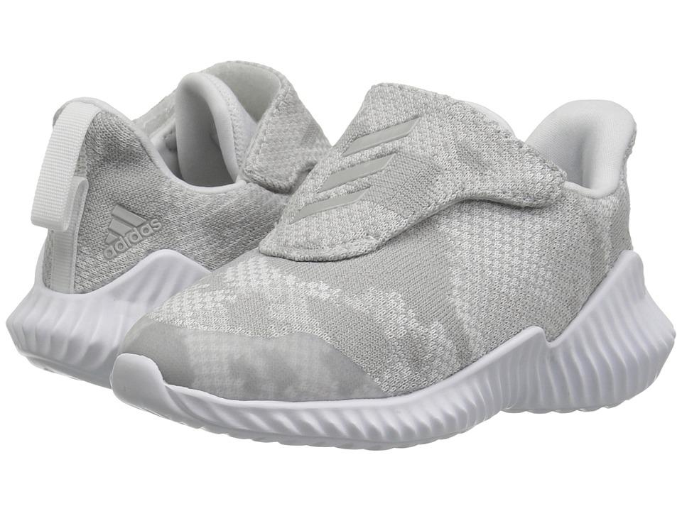 3953172e69e9fc adidas Kids FortaRun AC (Toddler) Kids Shoes White Grey