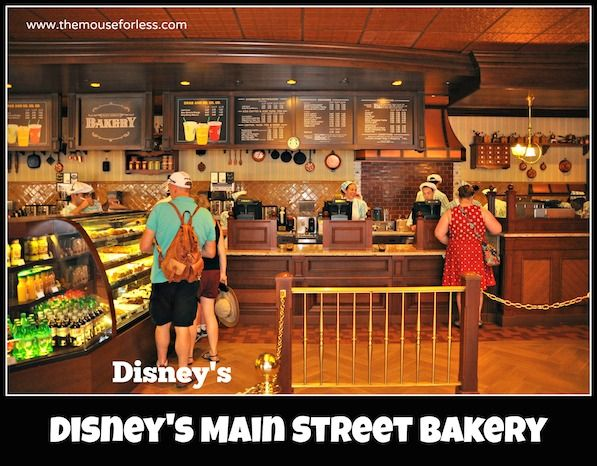 Starbucks Main Street Bakery Menu Bakery menu Main street and