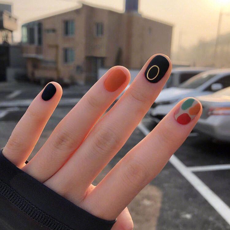 Beautiful Nail Designs #koreannailart