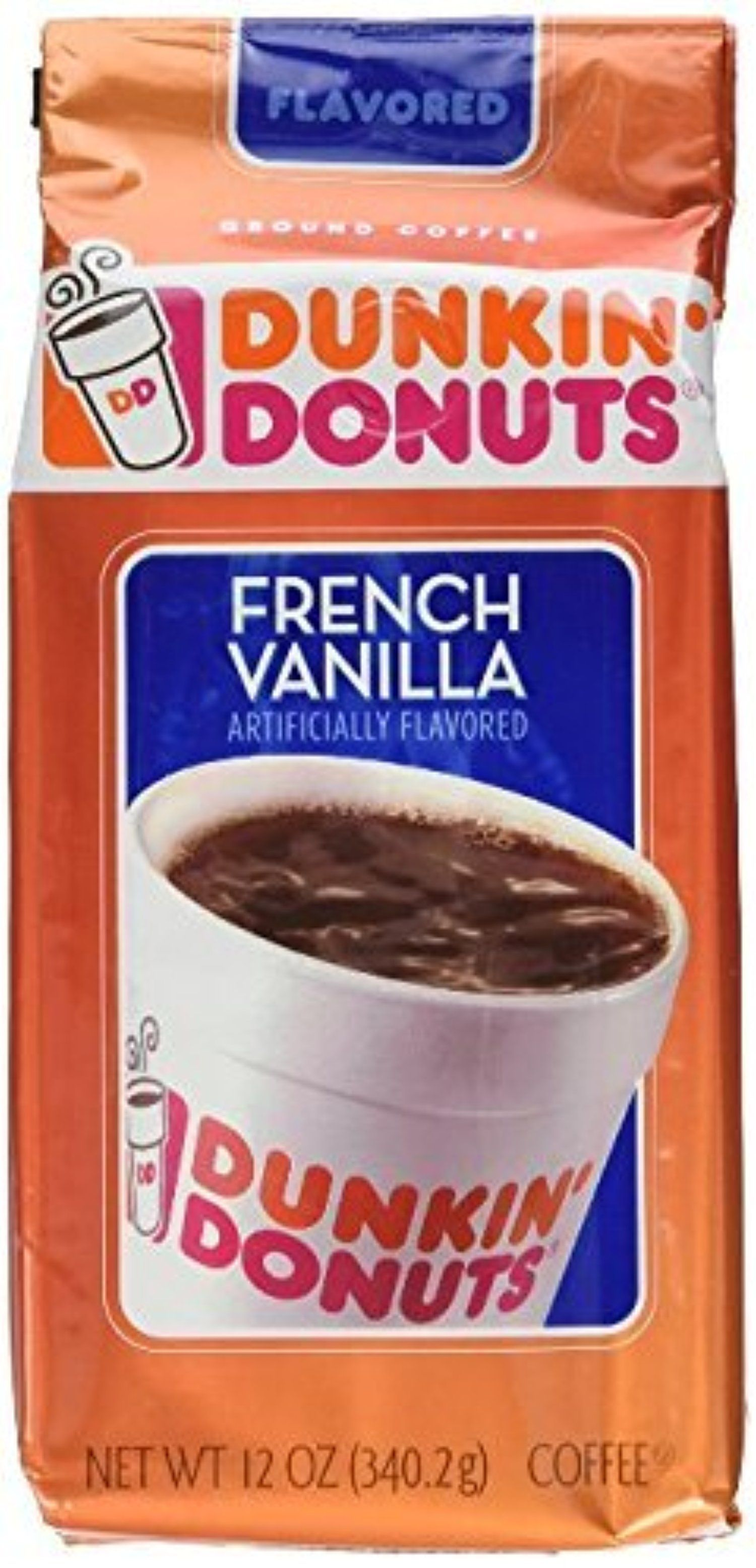 Dunkin' Donuts French Vanilla Ground Coffee (11 oz.) (PACK