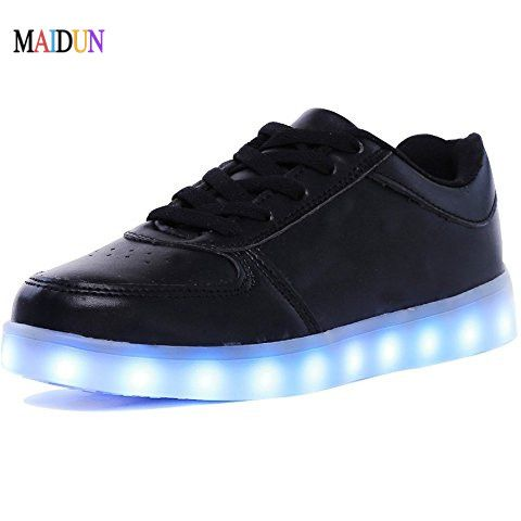 Cheap New Men led lady Sports Dancing Sneakers Jazz Dance Shoes led Lace Up Dancing Boots White Black shoes Tan  White Size35-46