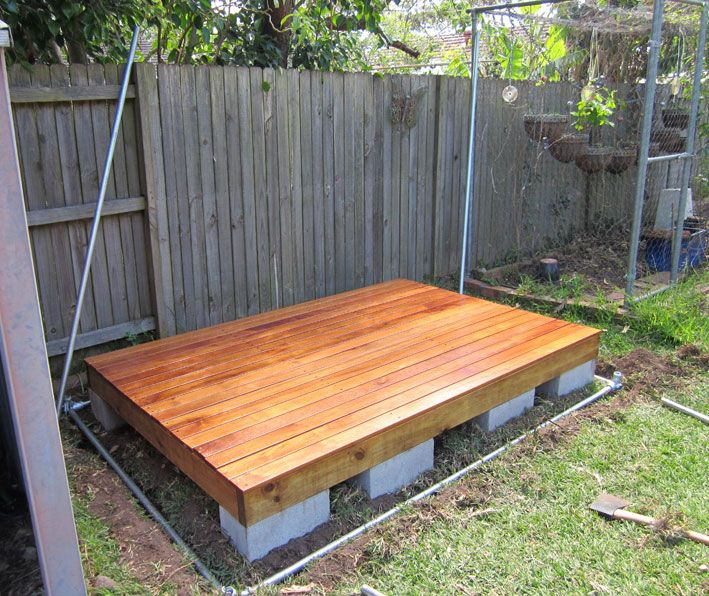 The Latest The Dirt Effect Floating Deck Backyard Seating Area Diy Backyard