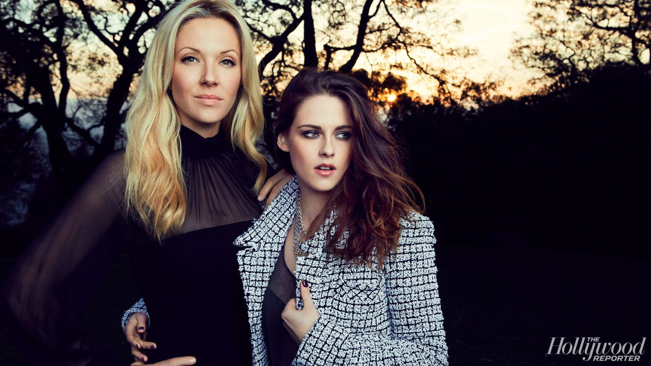 Kristen Stewart and Tara Swennen for The Hollywood Reporter