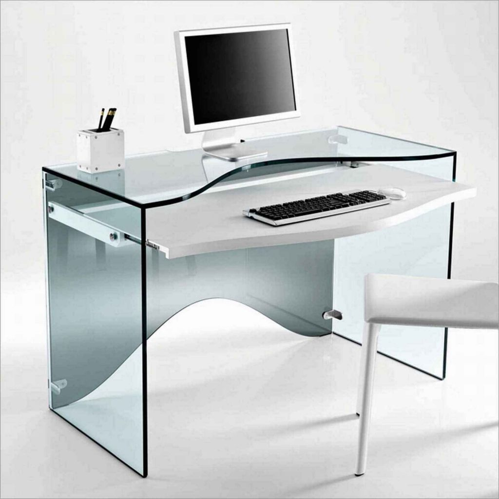 modern computer desk glass home office furniture ideas check more at http