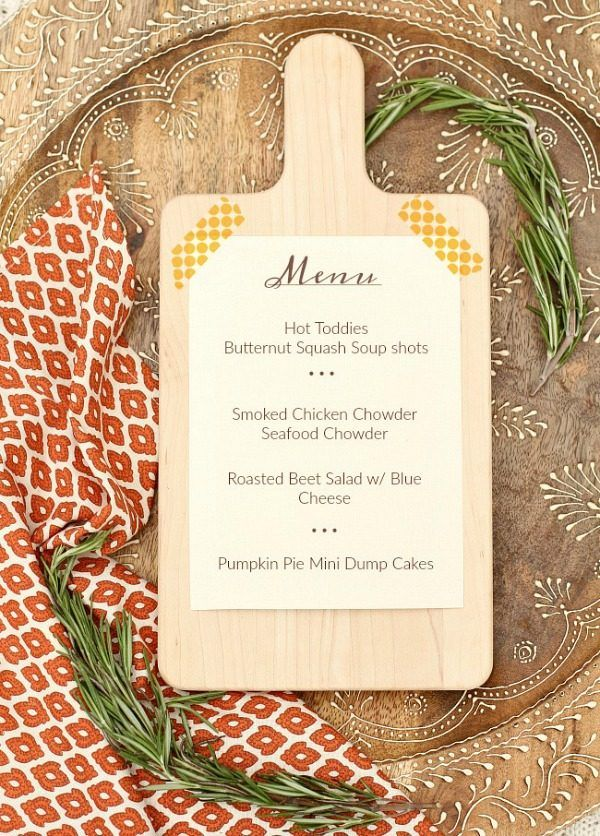 Superb Seafood Dinner Party Menu Ideas Part - 8: Host A Cozy Soup Dinner Party For Cool Weather Entertaining At Home. These  Design Ideas And Menu Choices Will Guide You Through It.