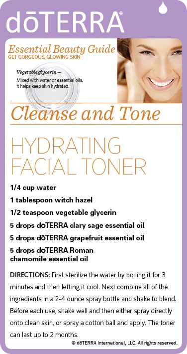 Necessary Boil water herbal infusion facial toner right!