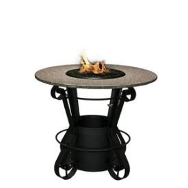 California Outdoor Concepts - 1030 - Solano - Bar Height Outdoor Fireplace * Pinterest Friends Only: Save 10% on everything on PatioProductsUSA.com with #coupon code PIN10 *
