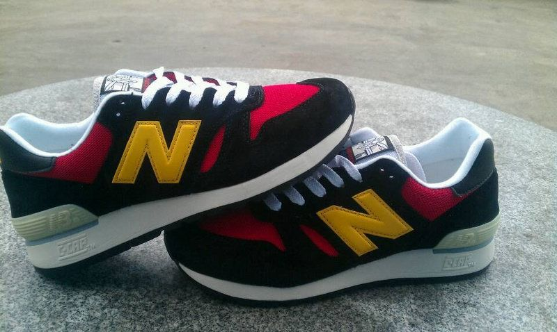 get cheap 90bcd 13ea7 Discount New Balance M670BRY Black Red Yellow Mens NB-670 ...