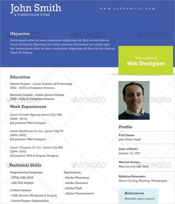 1 page resume template health symptoms and cure News to Go 2