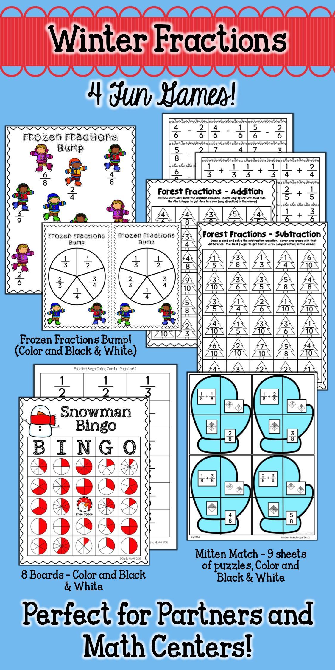 Winter Fractions Games