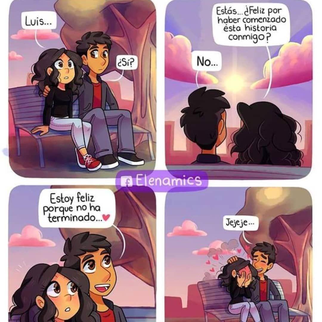 Cosas Del Amor On Instagram Historieta De Amor Historietas Divertidas Comics Graciosos