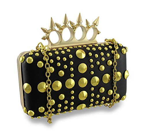Spiked Knuckle Duster Clutch Purse Studded Evening Bag To View Further For This Item Visit The Image Link Bags Pinterest