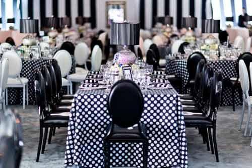 black and white theme party decor Black white Party ideas - fresh blueprint events pictures