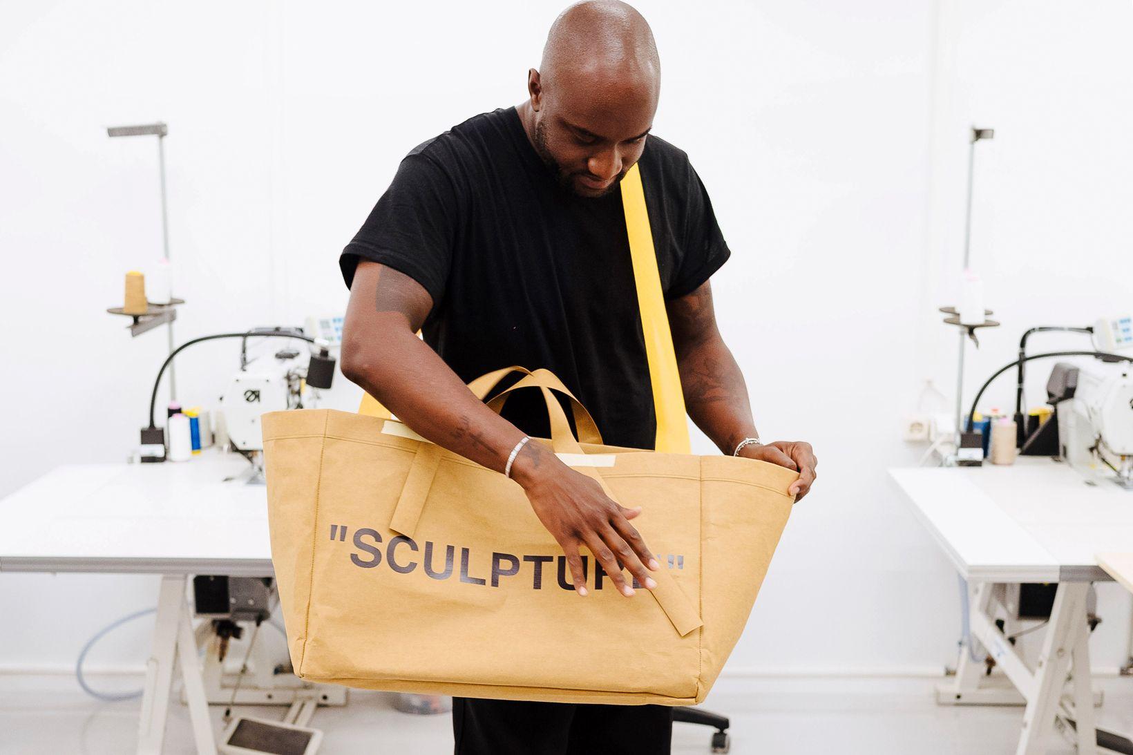 Virgil Abloh Unveils Redesigned Ikea Frakta Bag Ikea Virgil Bags