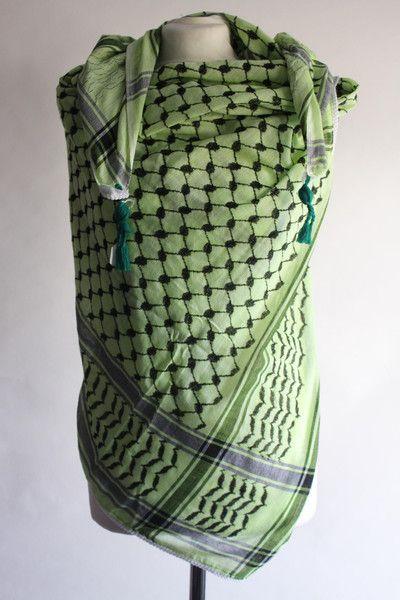 WIH Keffiyehs - Mint Green