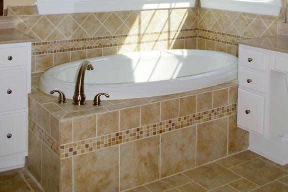 "Elegant ""Tile Tub Surrounds New Home Ideas Tile Master Bath Ideas Amazing - Latest how to tile a tub surround Top Design"