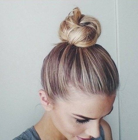 3 Easy Top Knot Bun Tutorials You Can T Mess Up By Erin Elizabeth Knotted Bun Tutorial Hair Bun Tutorial Easy Top Knot