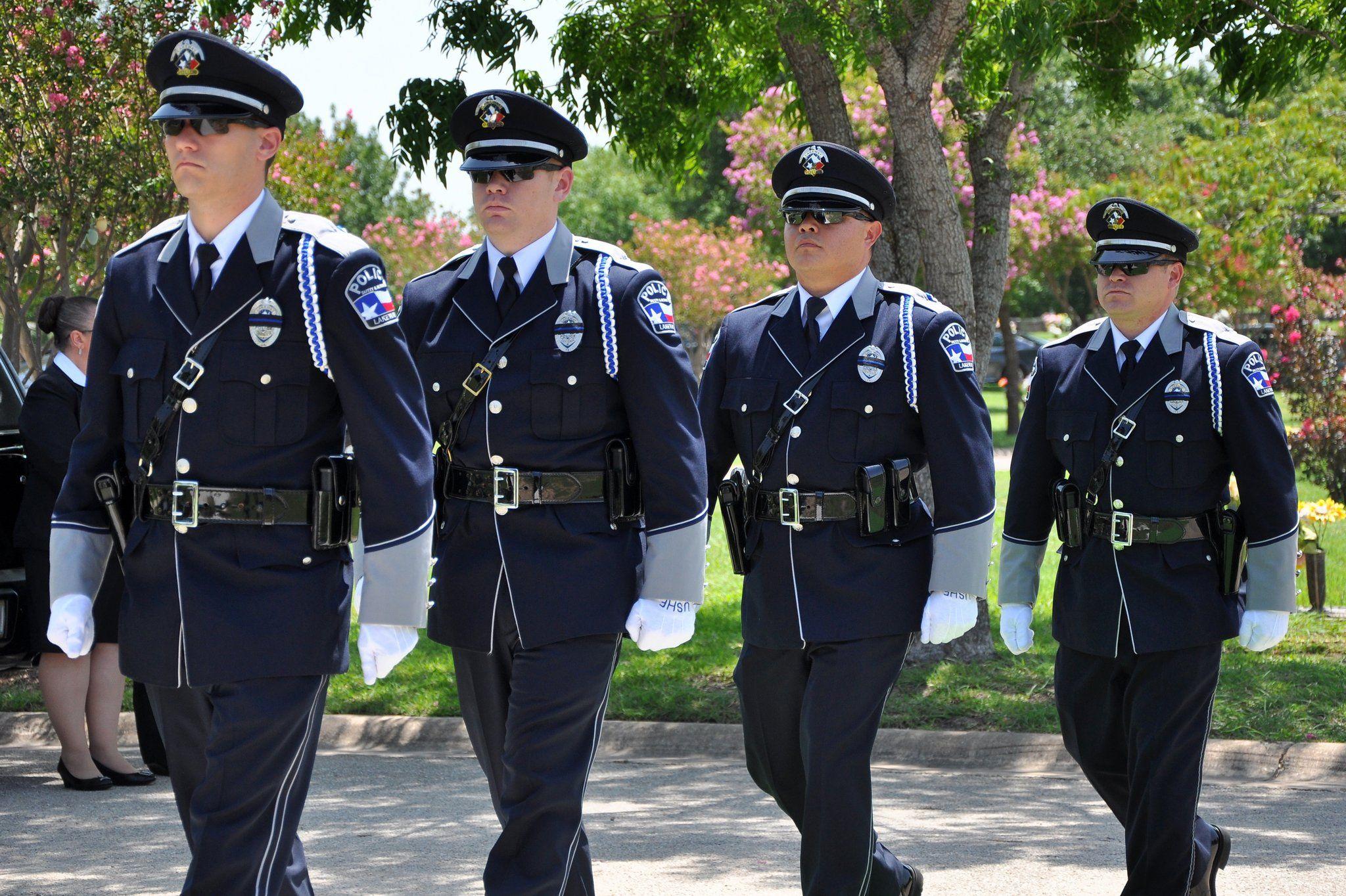 International company selects lakeway honor guard uniform