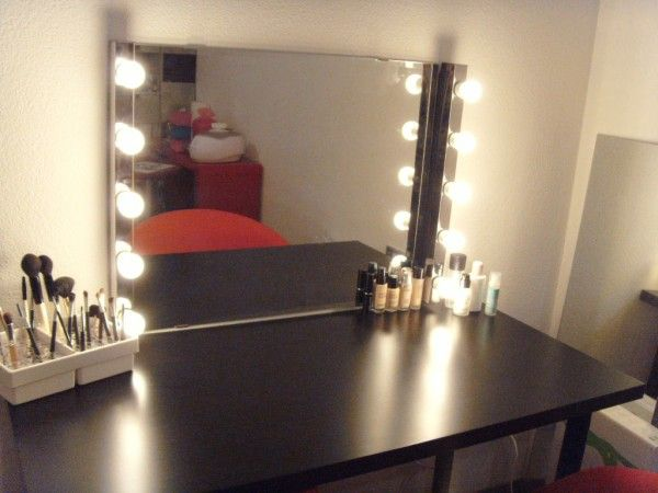 Schminktisch How To Make A Broadway Style Mirror Using