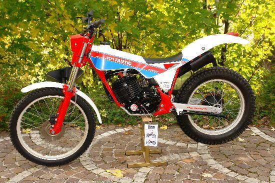 fantic 301 progres 2 1986 trials trial bike trials bike. Black Bedroom Furniture Sets. Home Design Ideas