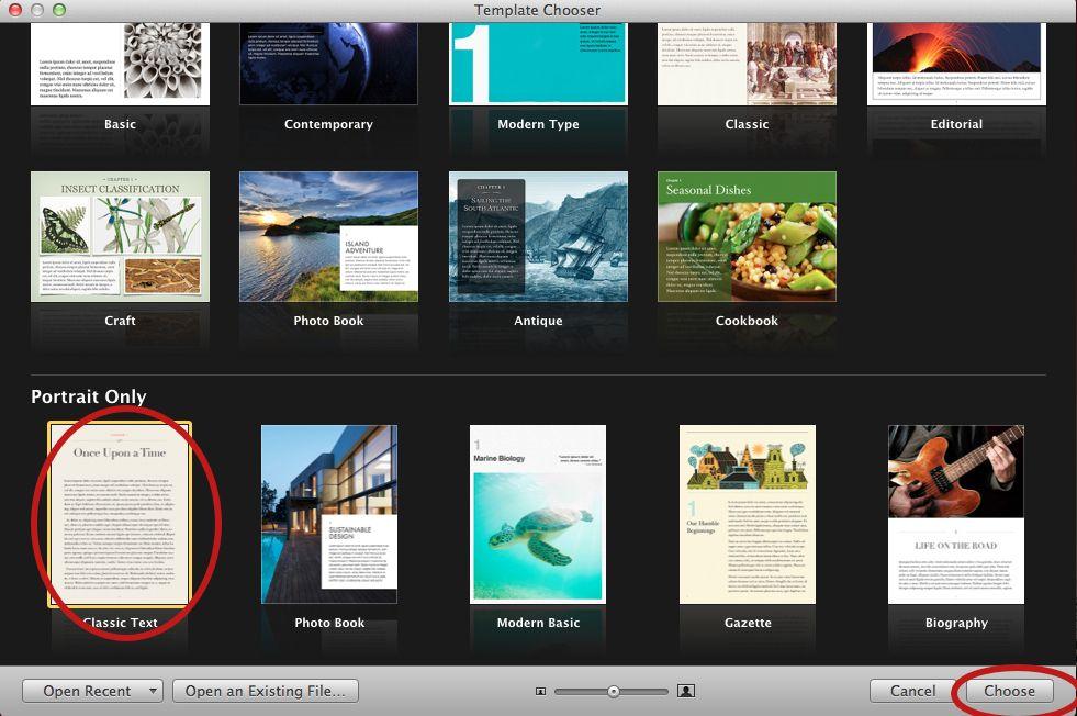 How to Customize iBook Author Templates   iBook Design   Pinterest ...