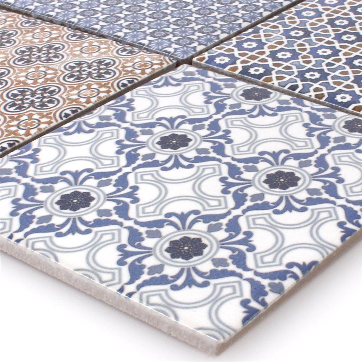 Mosaikfliesen Keramik Zement Optik Classico | Badezimmer Ideen ...