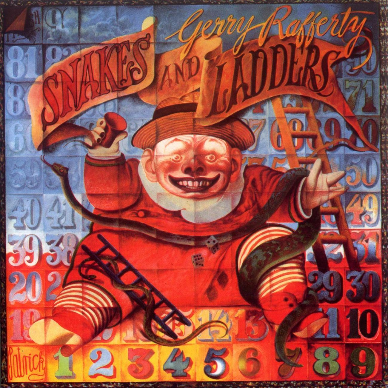 John Byrne 1980 Gerry Rafferty Snakes And Ladders